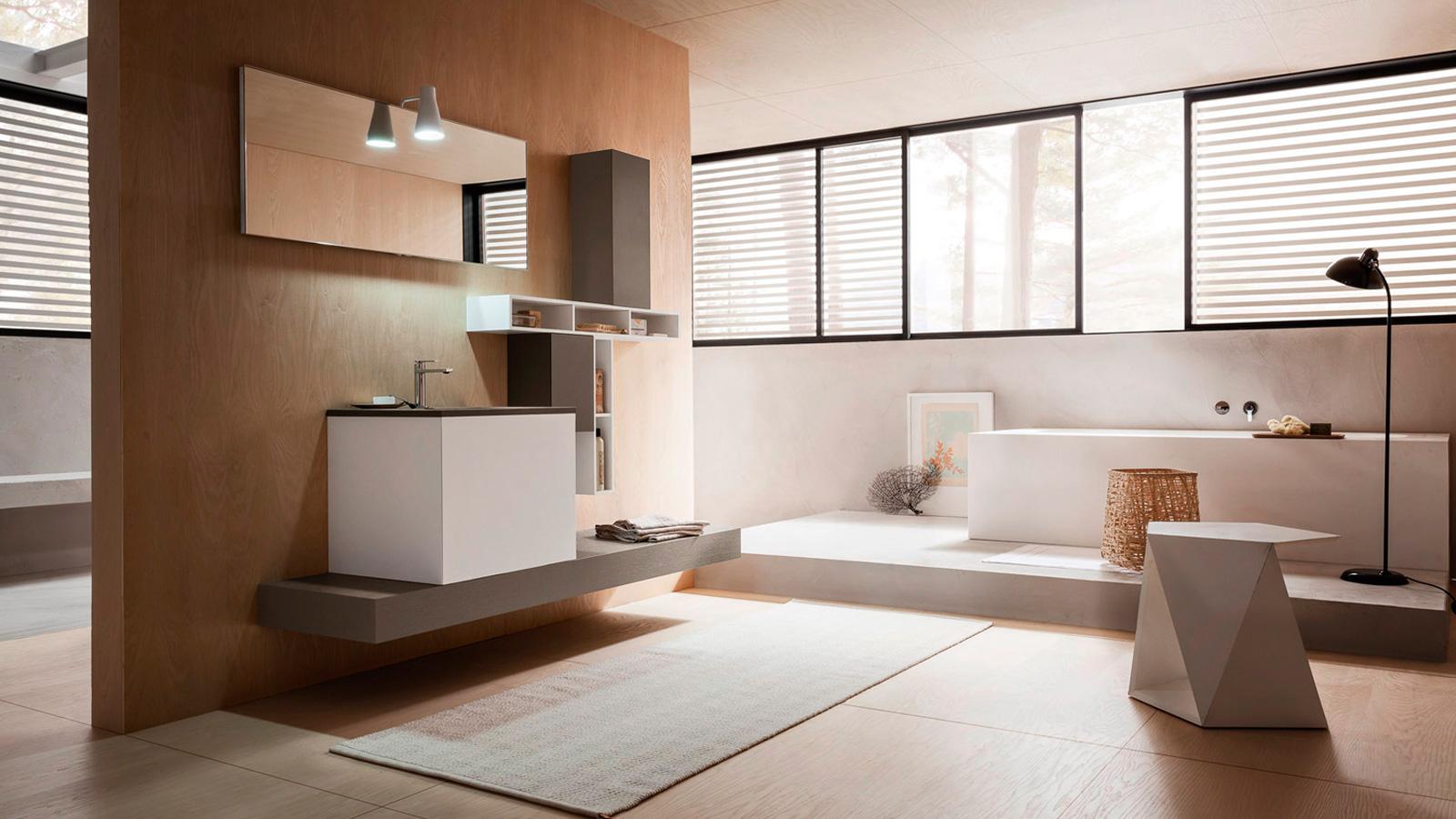 Arredo bagno habitat azzarito - Altamarea mobili bagno ...